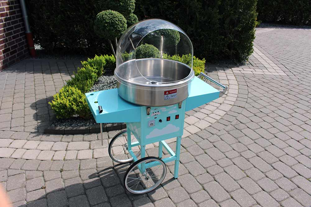 Zuckerwattemaschine Bild 1