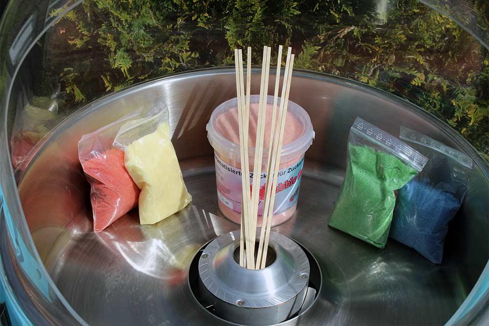 Zuckerwattemaschine Bild 2